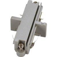 Longitudinal Connector Single Phase HV Rail Silver