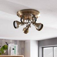 Perseas 3 bulb GU10 LED ceiling spotlight