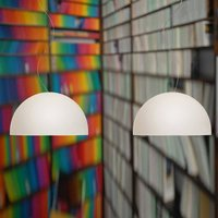Double bulb pendant light BOWL 35 cm