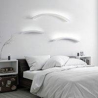 Melossia LED wall light  shining upwards  76 5 cm