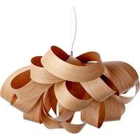 LZF Agatha Small hanging light 78x76cm cherry wood