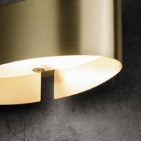 Holtk tter Voil  LED wall light  matt brass