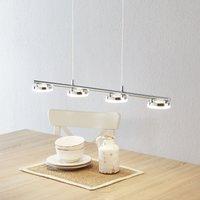 Brilliant Rennes LED hanging light  four light