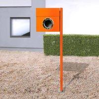 Letterman I free standing letterbox  orange