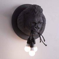 Karman Ugo Rilla   designer wall light  grey