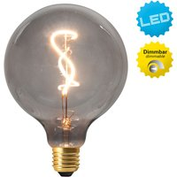 Dilly globe LED bulb E27 4 W 2000 K dimmable  grey