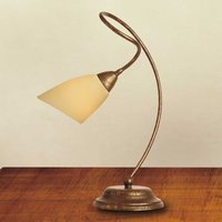 Table lamp Alessandro antique brown