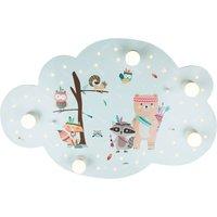 Little Indians ceiling light  picture cloud  mint