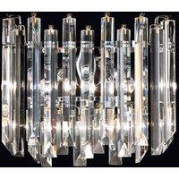 Cristalli wall light  Murano glass  chrome 38 cm