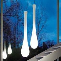 Lacrima hanging light  glass    25 cm  white