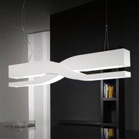 Fifi   white designer hanging light  60 cm