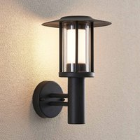 LED-Außenwandlampe Gregory, dunkelgrau