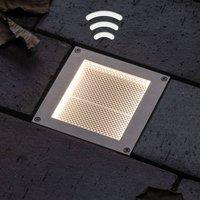 Paulmann LED Solar recessed light Aron 10x10cm