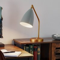 GUBI Gr shoppa table lamp  blue grey