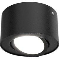 Tube 7121 015 LED ceiling spotlight in black