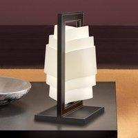 Dark brown table lamp Vincente