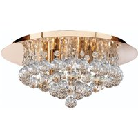 Hanna ceiling light  35 cm  clear