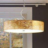 Alea Loop hanging light in gold