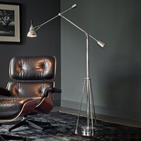 Tecnolumen Buquet floor lamp  silver plated