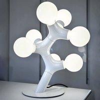 next DNA Table   designer table lamp  white