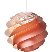 LE KLINT Swirl 3 medium   hanging lamp  copper