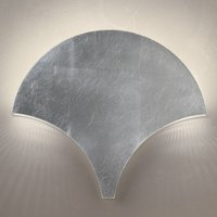 Exceptional LED wall light Palm  silver