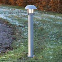 Heimdal aluminium path light  silver grey