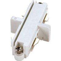 Longitudinal Connector Single Phase HV Rail White