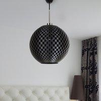 Effective Flechtwerk pendant light in graphite