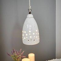 Ceramic hanging light Gisella  downlight