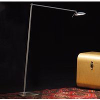 Adjustable LED floor lamp Tija with touch dimmer