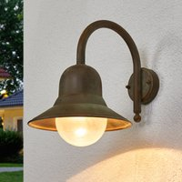 Antique looking outdoor wall light Marquesa