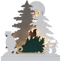 Forest Friends LED light  bear with sledge
