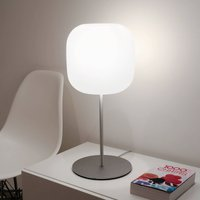 Casablanca Murea glass table lamp with a dimmer