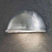 Torino outdoor wall light E27  galvanised zinc