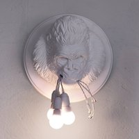 Karman Ugo Rilla   designer wall light  white