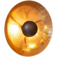 By Ryd ns Captain wall light  black  gold
