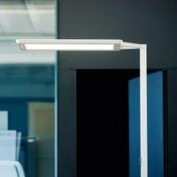 Yara single LED floor lamp 4 000 K  BT  LTX silver