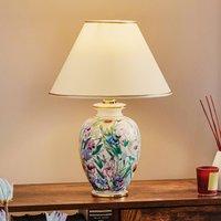 KOLARZ Giardino Panse   floral table lamp  30 cm