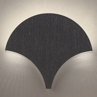 Exceptional LED wall light Palm  black silver