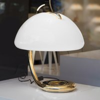 Martinelli Luce Serpente   table lamp  gold