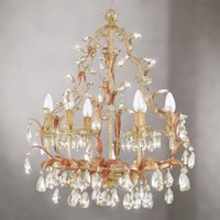 FOGGIA graceful chandelier lead crystal