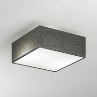 Embassy 2 bulb ceiling light in anthracite