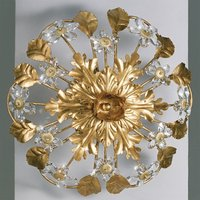 AREZZO ceiling light with glass flowers