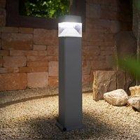 Ester path lamp 80cm high GX53 7W CCT grey clear