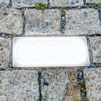 LED recessed floor light  paving stone  20 cm