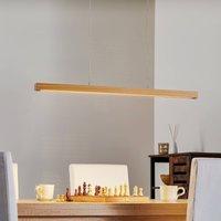 Erlk nig Lancelot hanging lamp natural oak 82 5 cm