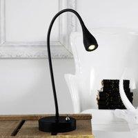 Mento   flexible LED table lamp  black