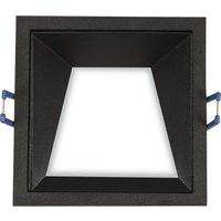 Image of LED-Einbaulampe Kris 3.000K asymmetrisch schwarz