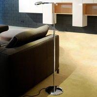 Height adjustable 3 LED floor lamp